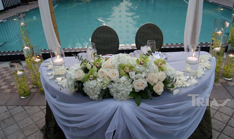 Wedding Bride Groom Table